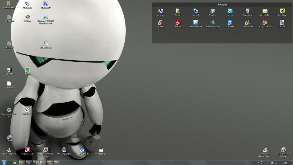 Chaos Desktop vorher