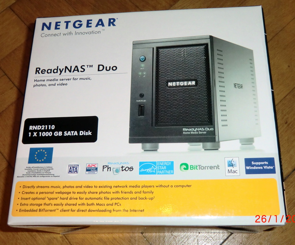 Netgear ReadyNAS Duo RND2110