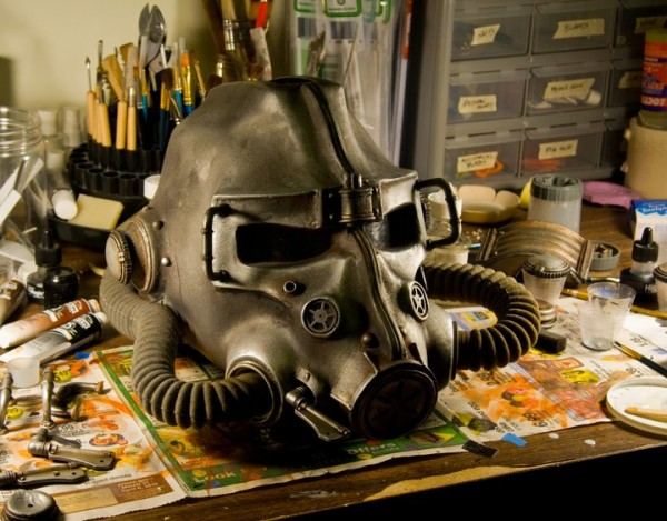 Fallout Brotherhood of Steel Helm Replika