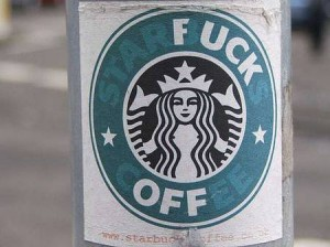 Starfuck Off Sticker