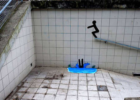 Street Art Swimming Pool