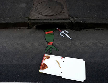 Street Art Ninja Turtles