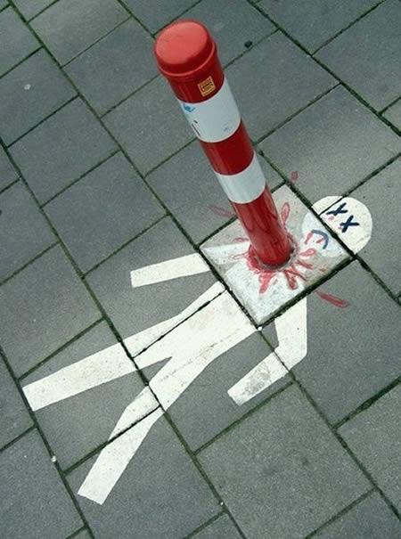 Street Art Poledeath
