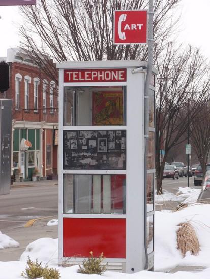 Telefonzelle Kunstgallerie