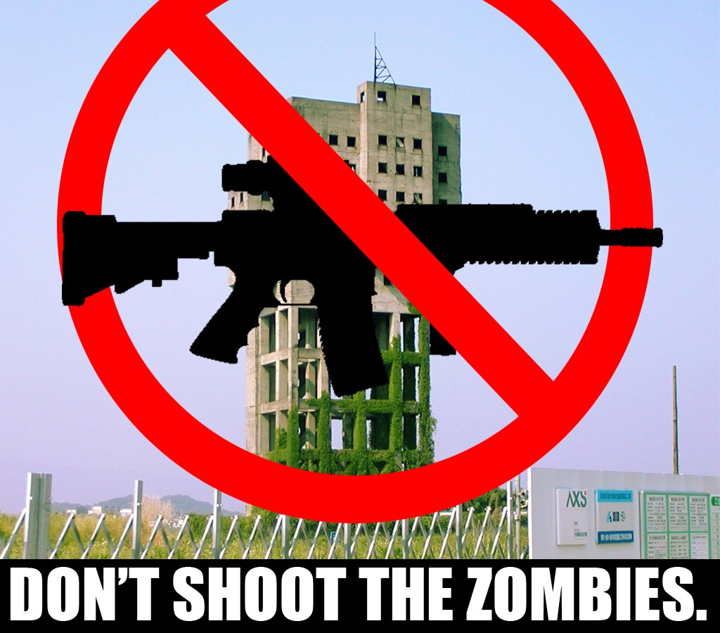 Dont shoot the Zombies