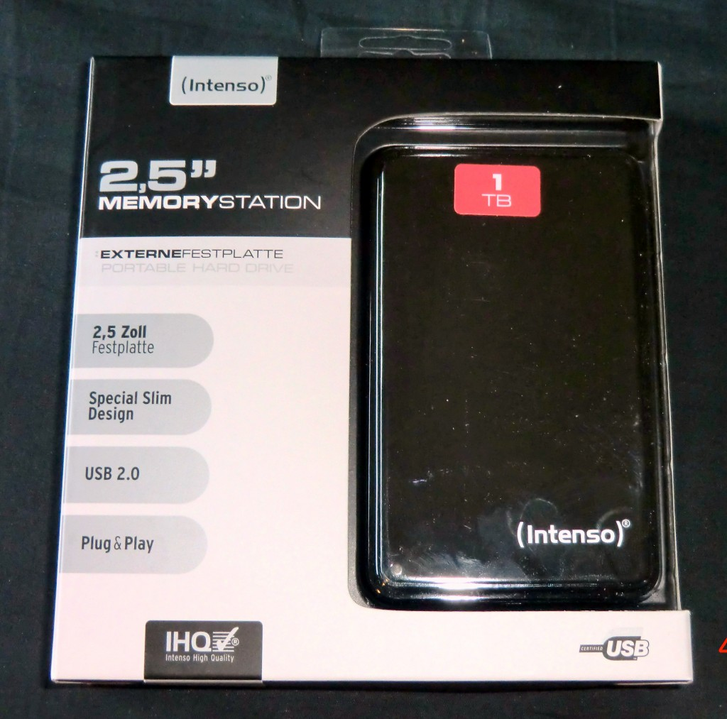 Intenso MemoryStation 2.5 Zoll 1TB